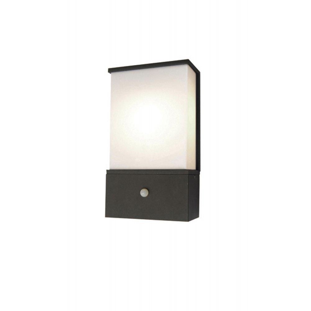 Elstead Lighting Azure Low Energy 6 Dark Grey Outdoor Wall