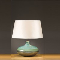 Elstead Lighting Laguna Turquoise & Silver Table Lamp