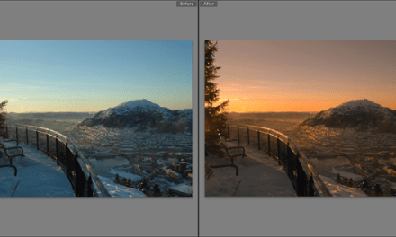 How to Give a Beautiful Sunrise Glow to Your Cold Daylight Photos