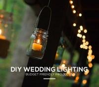 Diy Outdoor Wedding Lighting
