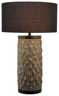 Minka Lavery 1-Light Table Lamp in Green - Table Lamps - Lamps