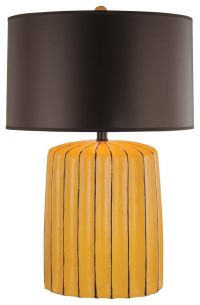 Minka Lavery 1-Light Table Lamp in Yellow - Table Lamps ...