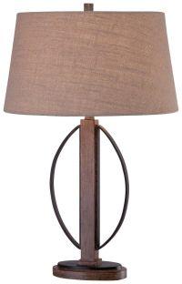 Minka Lavery Ambience 1-Light Table Lamp in Aspen Bronze ...
