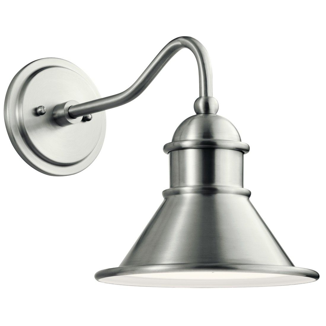 """Kichler Northland 12"""" Outdoor Wall Sconce in Brushed"""