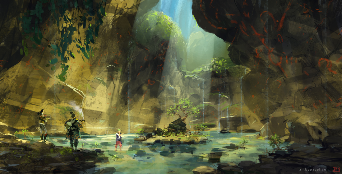 Fall River Wallpaper Artist Showcase Pavel Elagin Lightspeed Magazine