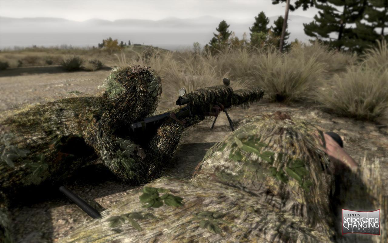 Bohemia Wallpaper 3d Sniper Camo Changer Arma 2 Amp Oa Addons Amp Mods