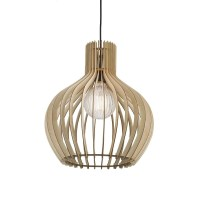 Nordlux Groa 40 Wood Ceiling Pendant Light