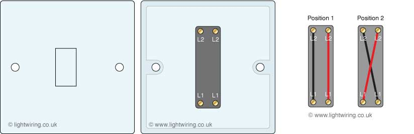 Light switches Light wiring