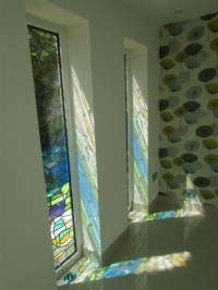 Contemporary Architectural Leaded Glass | Stained Glass ...