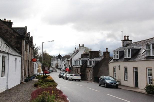 Main street in Craigellachie.
