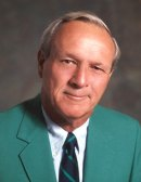 Arnold Palmer in his green jacket
