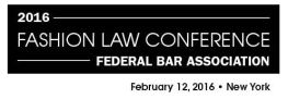 Fashion Law Conference 2016 FBA