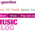 The Guardian Music Blog
