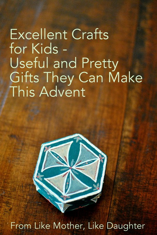 Advent crafts for kids to make