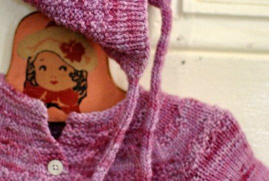 Knitting a little.