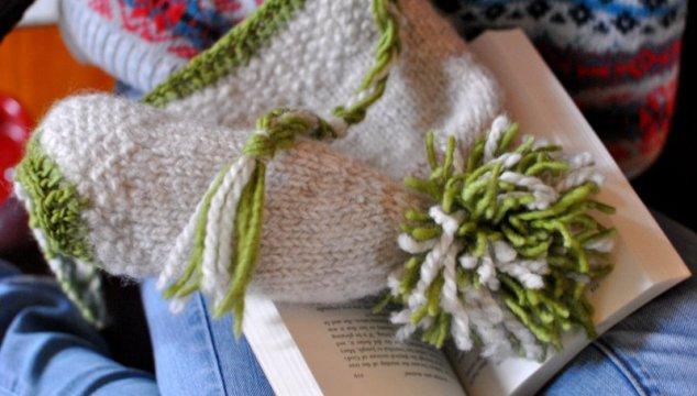A knit cap for Bridget.