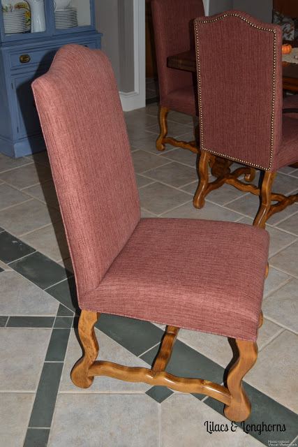 Dining Chairs Re-do {Slipcover Love} & My Fabulous Deal