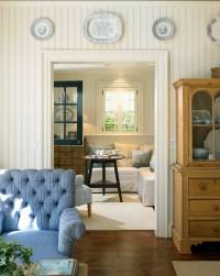 Beadboard In Living Room - Home Design
