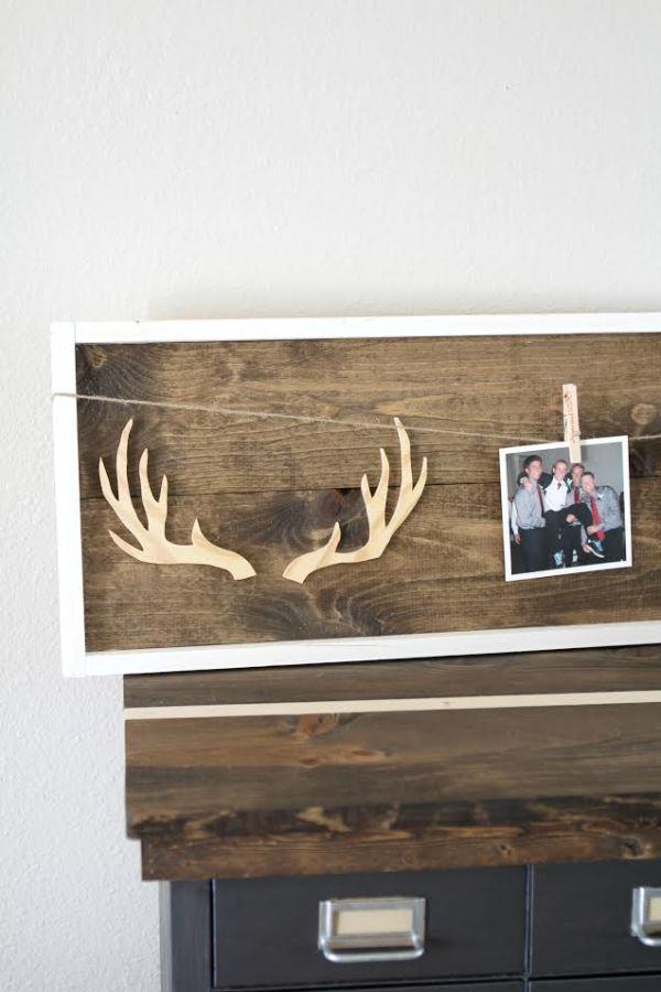 DIY-Wooden-Antler-Frame