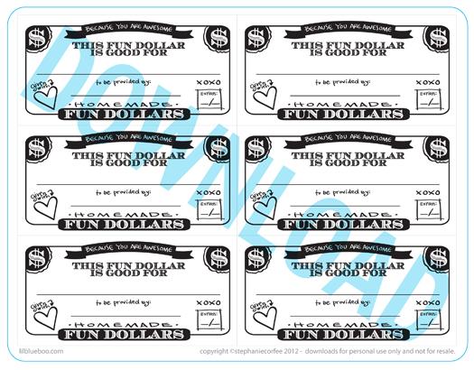 Fun coupon templates free  Freebies journalism