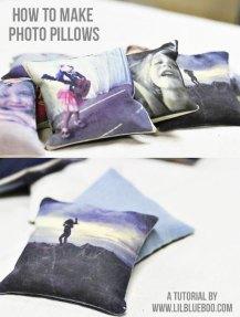 DIY Printed Photo Pillow