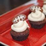 football-brownie-bites
