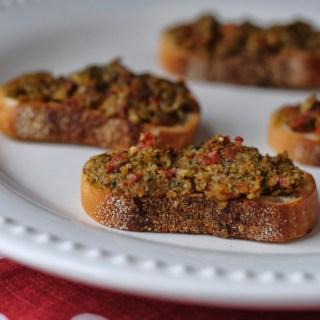 Sun-dried Tomato Pesto Bruschetta Recipe