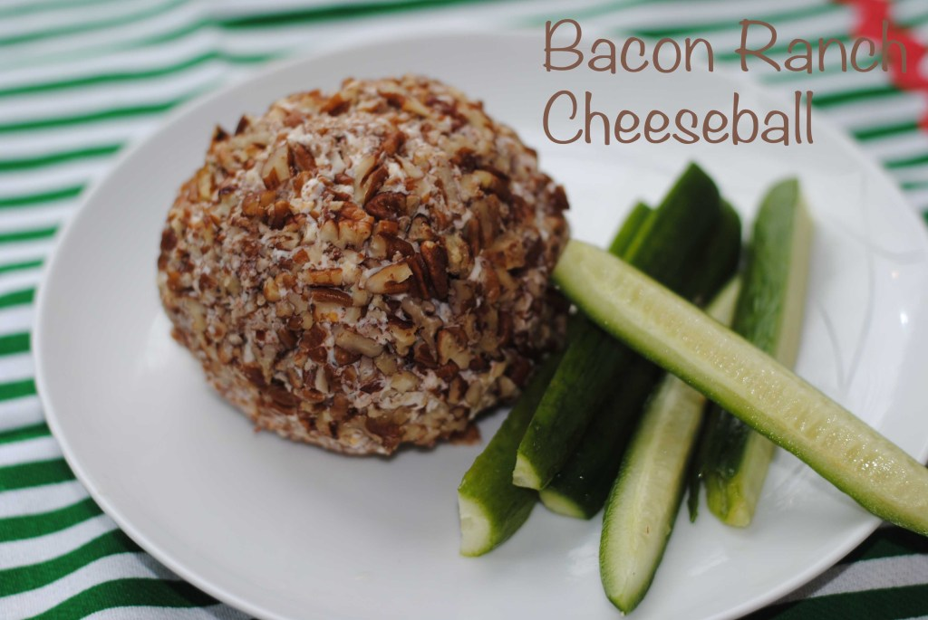 Bacon Ranch Cheeseball