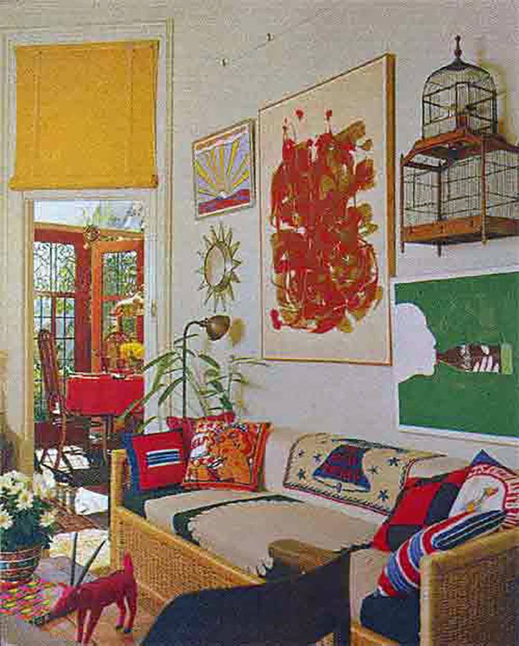 Set Apart Girl Wallpaper Lileks James Institute Interior Desecrations