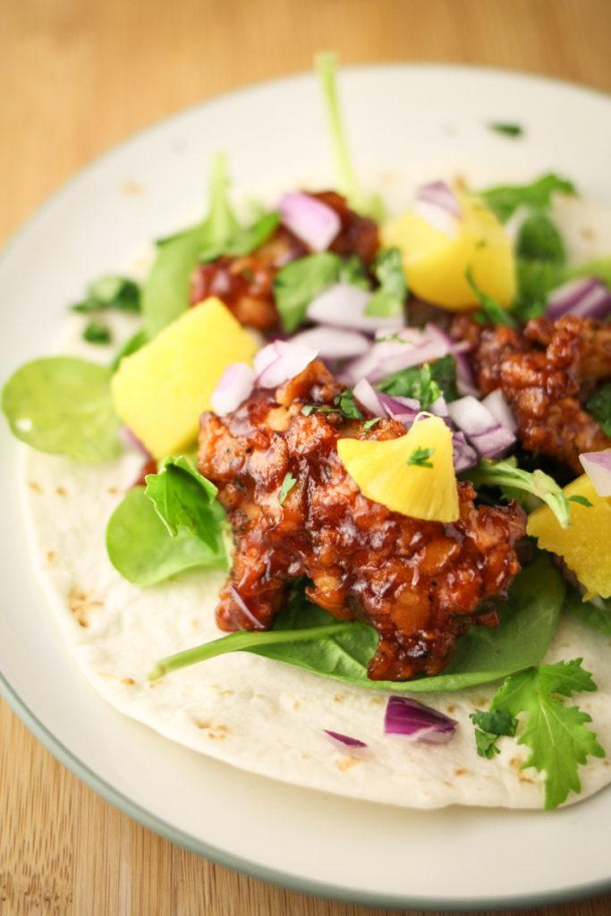 Fullsize Of Fried Chicken Taco