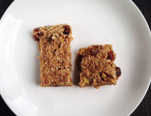 barres tendres sans gluten