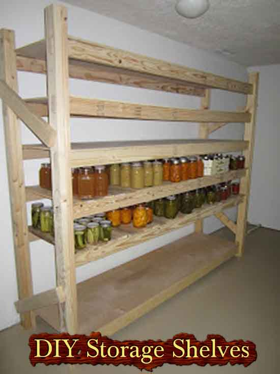 Build Your Own Canned Food Storage Shelves Lil Moo Creations