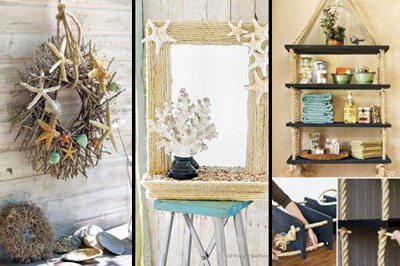 36 Breezy Beach Inspired DIY Home Decorating Ideas - Lil Moo Creations