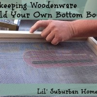 Building Your Own Bottom Boards For Your Bee Hives