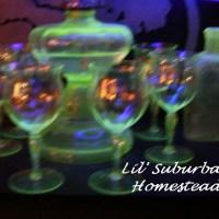 Vintage, Classic, Treasures - Vaseline/Uranium Glassware
