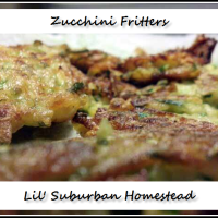 Zucchini Fritters Lil' Suburban Style