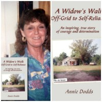 The Winner Of The Book Giveaway: A Widow's Walk Off-Grid To Self Reliance by Author Annie Dodds