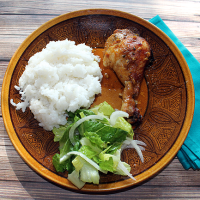From The Farm Blog Hop & Nourishing Tradition's Moroccan Chicken Recipe