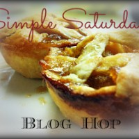 Simple Saturdays Blog Hop #50
