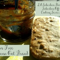 The Suburban Off-Grid Cooking Series No. 4 - Gluten-Free Banana Oat Bread Made In Our All American Sun Oven