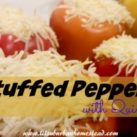 Simple Stuffed Peppers with Quinoa - 7 Ingredients