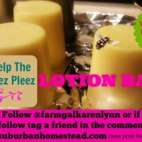 Free Lotion Bar - Our 1st Ever Instagram Challenge