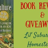 Giveaway Winner:  Permaculture For The Rest Of Us:  Abundant Living On Less Than An Acre
