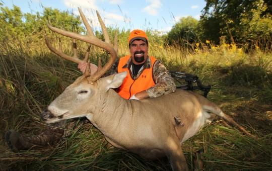 Whitetail Archery deer hunting Kansas Lodge