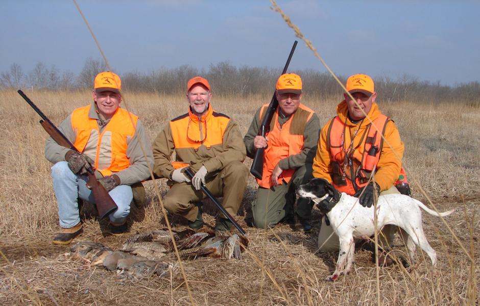 Upland Birds- Pheasant hunting Kansas-F