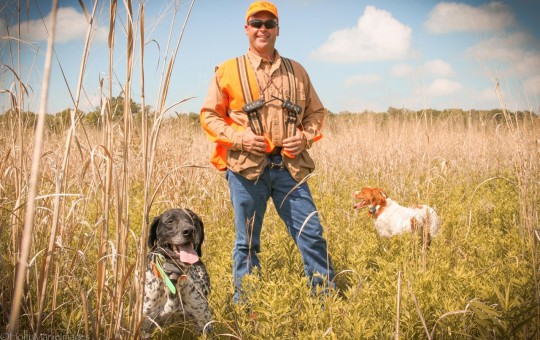 Upland birds Hunting Guide Dan