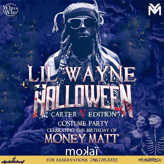 Lil Wayne To Host A \u201cTha Carter V\u201d Edition Halloween Costume Party