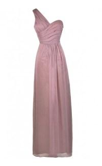 Purple One Shoulder Dress, Purple Bridesmaid Dress, Purple ...