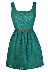 Jade Lace Dress, Teal Lace Dress, Green Lace Dress, Teal ...