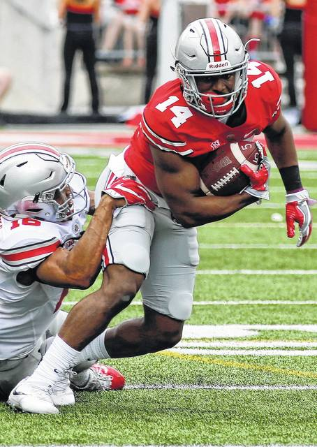 Meyer talks up depth of OSU receivers - The Lima News